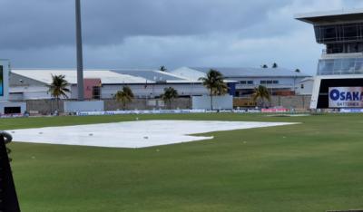 چوتھا ٹی 20:پاک ویسٹ انڈیز میچ بارش کے باعث روک دیا گیا