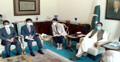 پاکستان اور کوریا مختلف شعبوں میں ملکر کام کرینگے; وزیراعظم