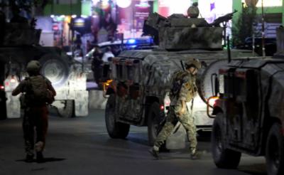 افغانستان کے دارالحکومت کابل میں'گرین زون کے قریب دھماکا اور فائرنگ، 3 افراد ہلاک