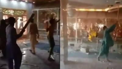 رحیم یار خان میں مندر پر حملہ، وزیراعظم نے نوٹس لے لیا