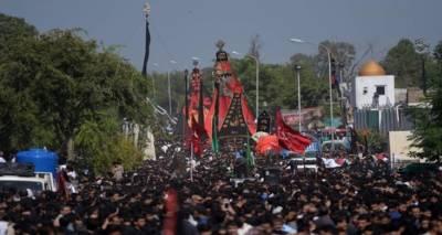ملک بھر میں یوم عاشورہ مذہبی عقیدت و احترام سے منایا جا رہا ہے