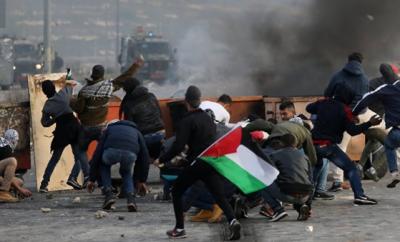 غزہ میں اسرائیلی فورسز کی وحشیانہ بمباری، 22 بچوں سمیت 41 فلسطینی شدید زخمی