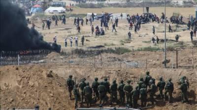 اسرائیلی فوج نےغزہ کی پٹی کی مشرقی سرحد پرنفری مزید بڑھا دی۔