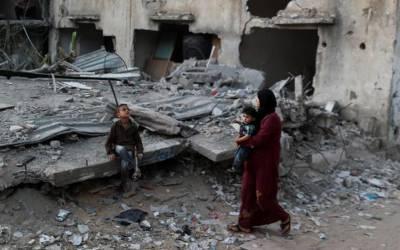 ہیومن رائٹس واچ نے غزہ میں تباہ شدہ عمارتوں بارے تحقیقات مکمل کر لیں