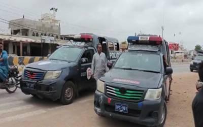 ٹھٹھہ پولیس پر فائرنگ، 2 اہلکار شہید، ڈی ایس پی سمیت 4 زخمی