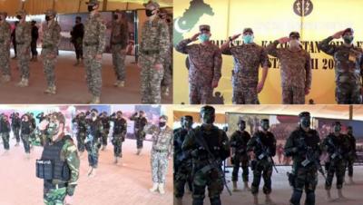 پاکستان،قازخستان کی مشترکہ فوجی مشق دوستریم سوئم کی افتتاحی تقریب