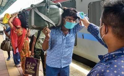 بھارت : کورونا وائرس کیسز دو دن میں46164 نئے رپورٹ،607 ہلاک