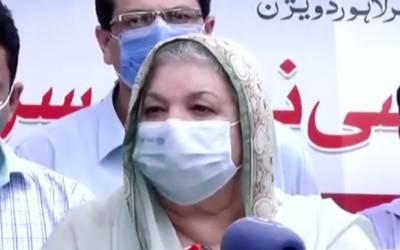 کوشش ہے دسمبر تک 70 فیصد آبادی کو ویکسین لگ جائے. یاسمین راشد