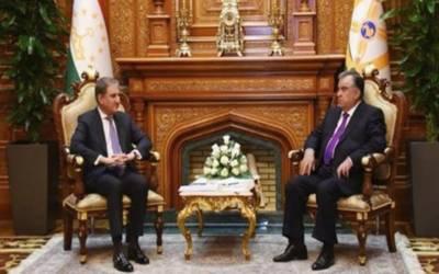 وزیر خارجہ شاہ محمود قریشی کی ترکمانستان کے صدر قربان قلی بردی محمدوف کے ساتھ ملاقات