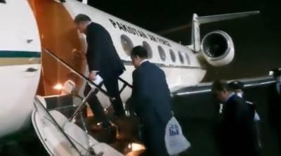 وزیر خارجہ مخدوم شاہ محمود قریشی چار ملکی دورہ مکمل کر کے واپس وطن روانہ