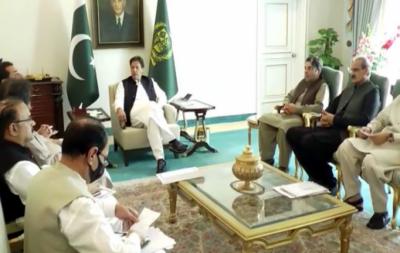 وزیر اعظم سے اراکین پارلیمنٹ کی ملاقات, جاری منصوبوں پر پیش رفت پر گفتگو