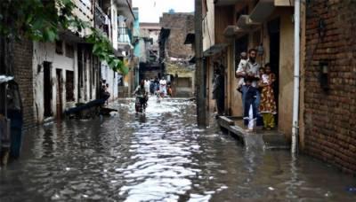 راولپنڈی : موسلا دھار بارش، پانی گھروں میں داخل