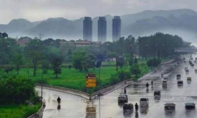 اسلام آباد، راولپنڈی اور ملحقہ علاقوں میں موسلادھار بارش ،نشیبی علاقے زیرآب