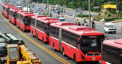 میٹرو بسوں کا پہیہ پھر رک گیا، ڈرائیوروں نے ہڑتال کردی