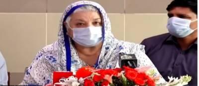 کل کے احتجاج میں ڈاکٹرز کم اور اسٹوڈنٹس زیادہ تھے، یاسمین راشد