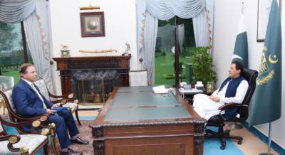 نئے آبی ذخائر کی تعمیر سے سستی بجلی کی فراہمی یقینی بنائی جائیگی: وزیراعظم عمران خان سے واپڈاچیئرمین کی ملاقات