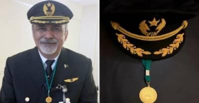 کابل میں مشکل حالات میں مشکل فلائٹ: کیپٹن مقصود کو ایوارڈ مل گیا