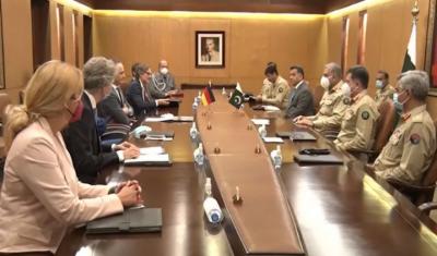 پاکستان، جرمنی کے ساتھ اپنے تعلقات کو کلیدی اہمیت دیتا ہے: آرمی چیف