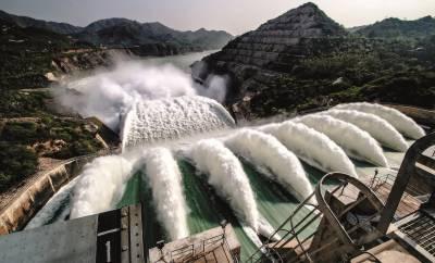 تربیلا ڈیم پانی سے مکمل طور پر بھر گیا۔