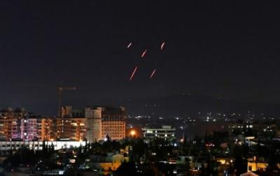 اسرائیل کے شام میں فضائی حملے