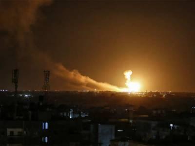 دمشق کے مضافات میں بھی اسرائیلی بمباری