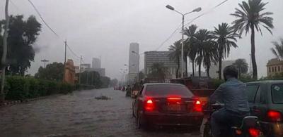 کراچی میں آج بھی بارش کا امکان