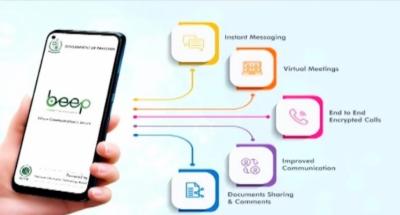 سرکاری ملازمین کے لیے واٹس ایپ کی متبادل بیپ ایپ تیار