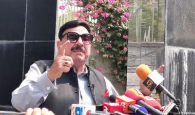 پاکستان افغانستان میں امن کا خواہشمند ہے:وزیر داخلہ شیخ رشید