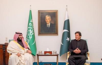 وزیر اعظم عمران خان اور سعودی ولی عہد کے درمیان ٹیلیفونک رابطہ ، افغانستان اور خطے کی صورتحال پر تبادلہ خیال