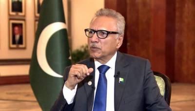 افواج پاکستان نے قوم کی مدد سے دشمن کو ہر محاذ پر شکست دی: صدر مملکت