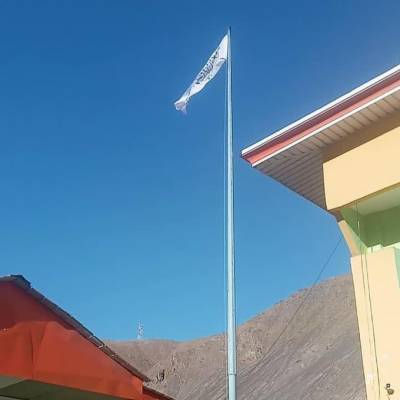 پنج شیر وادی میں گورنر ہاؤس پر امارت اسلامی کا جھنڈا لہرا دیا گیا