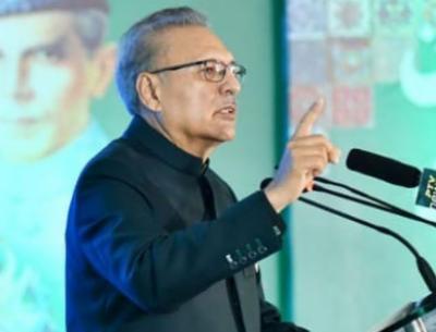 بھارت نے ہرموقع پر پاکستان کو نقصان پہنچانے کی کوشش کی، خطے کی ترقی کا راز کشمیرکے منصفانہ حل میں ہے:صدر مملکت