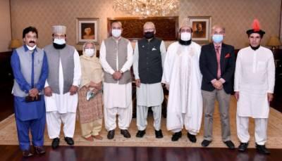 حکومت نے اقلیتوں کیلئے سرکاری نوکریوں میں 5 فیصد کوٹہ مختص کیا، صدر مملکت