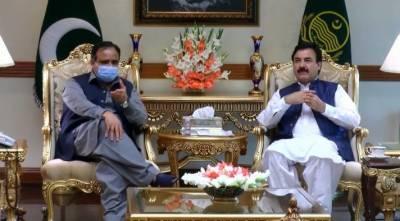 وزیراعلیٰ پنجاب سردار عثمان بزدار سے خیبر پختونخواکے صوبائی وزیر شوکت یوسف زئی کی قیادت میں وفد کی ملاقات