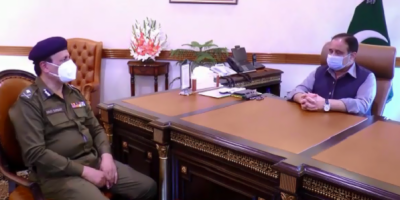وزیراعلیٰ پنجاب عثمان بزدار سے نئے آئی جی پنجاب کی ملاقات