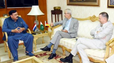 افغانستان میں پائیدارامن خطے اوردنیامیں استحکام کیلئے ناگزیرہے: وزیرداخلہ شیخ رشید