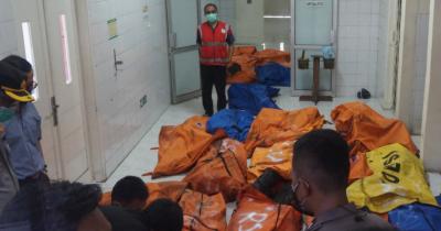 انڈونیشیا:جیل میں آتشزدگی،41قیدی ہلاک،80زخمی ہوگئے