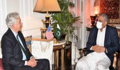 آرمی چیف سے سی آئی اے ڈائریکٹر ولیم برنز کی ملاقات ، افغانستان کی صورتحال پر تبادلہ خیال