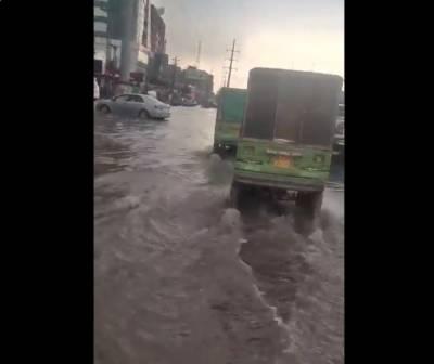 لاہور سمیت پنجاب کے مختلف علاقوں میں موسلادھار بارش ، موسم خوشگوار
