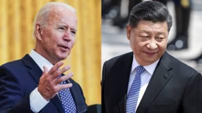 جوبائیڈن اور چینی صدر کے درمیان ٹیلی فونک رابطہ