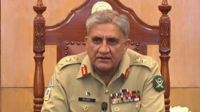 پاکستان میں امن واستحکام کیلئے بیرونی اور اندرونی قوتوں کے عزائم کو ہر قیمت پر ناکام بنائیں گے; آرمی چیف