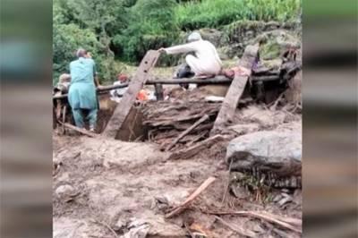 تورغر میں آسمانی بجلی گرنے سے 3 گھر زمین بوس،11 افراد جاں بحق، 2 زخمی
