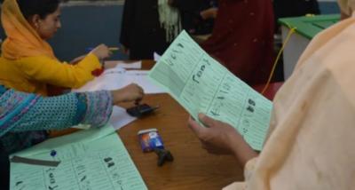 کنٹونمنٹ بورڈز میں بلدیاتی الیکشن کیلئے پولنگ کا وقت ختم، ووٹوں کی گنتی شروع