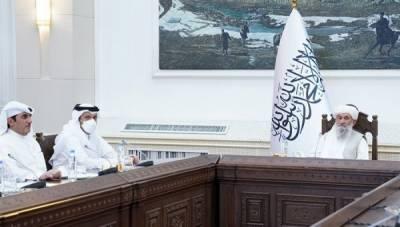 قطر کے وزیرخارجہ اور نائب وزیر اعظم شیخ محمد بن عبدالرحمٰن کا افغانستان کا پہلا دورہ