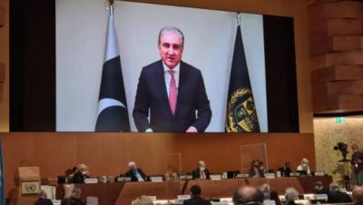 افغانستان کے قریبا 1 کروڑ80 لاکھ عوام کو انسانی بنیادوں پر امداد کی اشد ضرورت ہے: وزیر خارجہ شاہ محمود قریشی