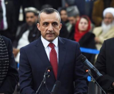 سابق افغان نائب صدر امراللہ صالح کے گھر سے ڈالرز اور سونابرآمد