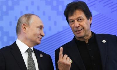 وزیراعظم عمران خان کو روسی صدر ولادیمیر پیوٹن کا ٹیلی فون, افغانستان کی موجودہ صورت حال اور دوطرفہ تعاون پر تبادلہ خیال