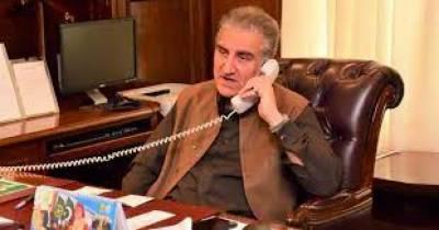 متحدہ عرب امارات کے وزیرخارجہ کا شاہ محمود قریشی کو ٹیلیفون