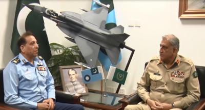 آرمی چیف جنرل قمر جاوید باجوہ سے ایئر چیف ظہیر احمد بابر سدھو کی ملاقات, افغانستان سے انخلاء اور انسانی ہمدردی کے آپریشنز کو سراہا