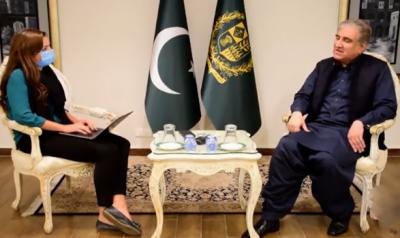 ٹی ٹی پی دہشت گردی ترک کرکے ہتھیار ڈالے تو حکومت معافی کیلئے تیار ہے: وزیر خارجہ شاہ محمود قریشی